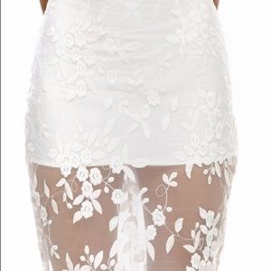 Misha Collection Rosalia Lace Skirt